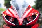 Modifikasi yamaha R15 pakai Projie ala Yamaha R1 pertamax7.com 15