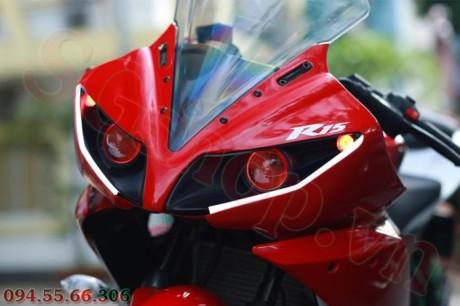 Modifikasi yamaha R15 pakai Projie ala Yamaha R1 pertamax7.com 16