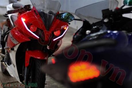 Modifikasi yamaha R15 pakai Projie ala Yamaha R1 pertamax7.com 18