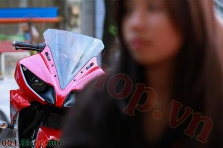 Modifikasi yamaha R15 pakai Projie ala Yamaha R1 pertamax7.com 19