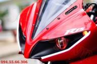 Modifikasi yamaha R15 pakai Projie ala Yamaha R1 pertamax7.com 2