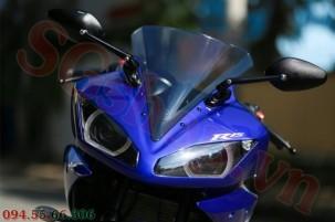 Modifikasi yamaha R15 pakai Projie ala Yamaha R1 pertamax7.com 23
