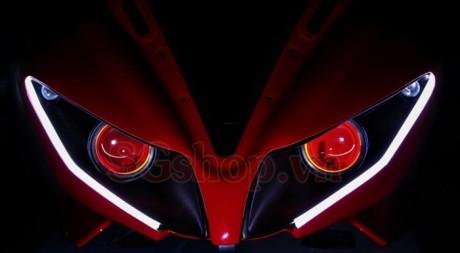 Modifikasi yamaha R15 pakai Projie ala Yamaha R1 pertamax7.com 6