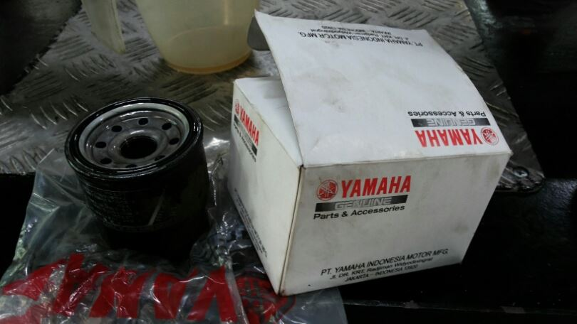 oil filter yamaha R25