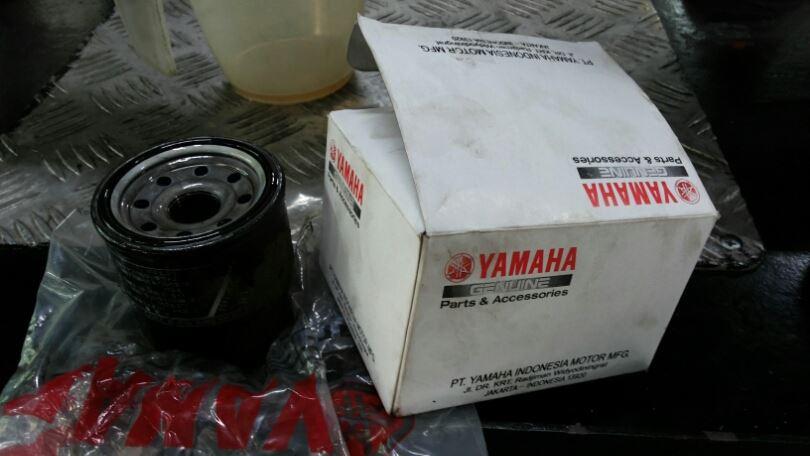 oil filter yamaha R25