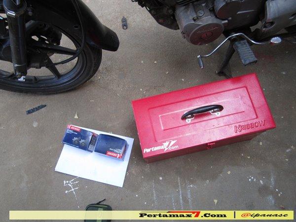 Pasang Klakson Denso Disk di Honda megapro pertamax7.com 2