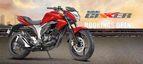 Suzuki-Gixxer-155-red