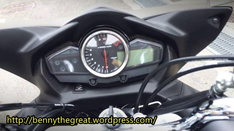 Suzuki Inazuma pakai Hal faiiring GW 250 S1