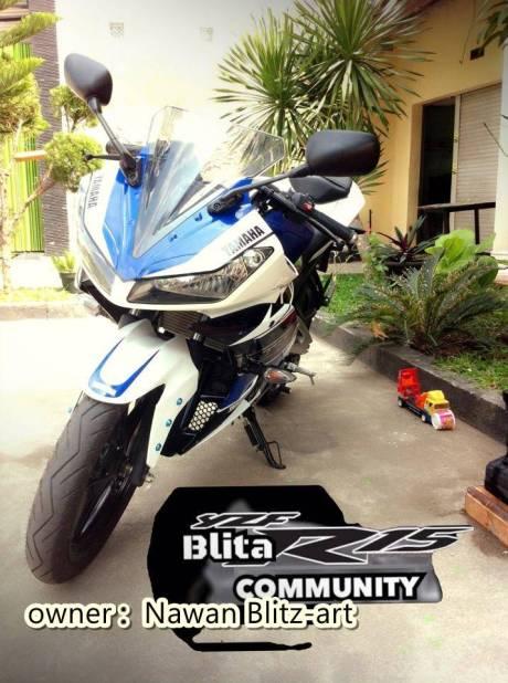 Yamaha R15 ala R25 dari Blitar 2