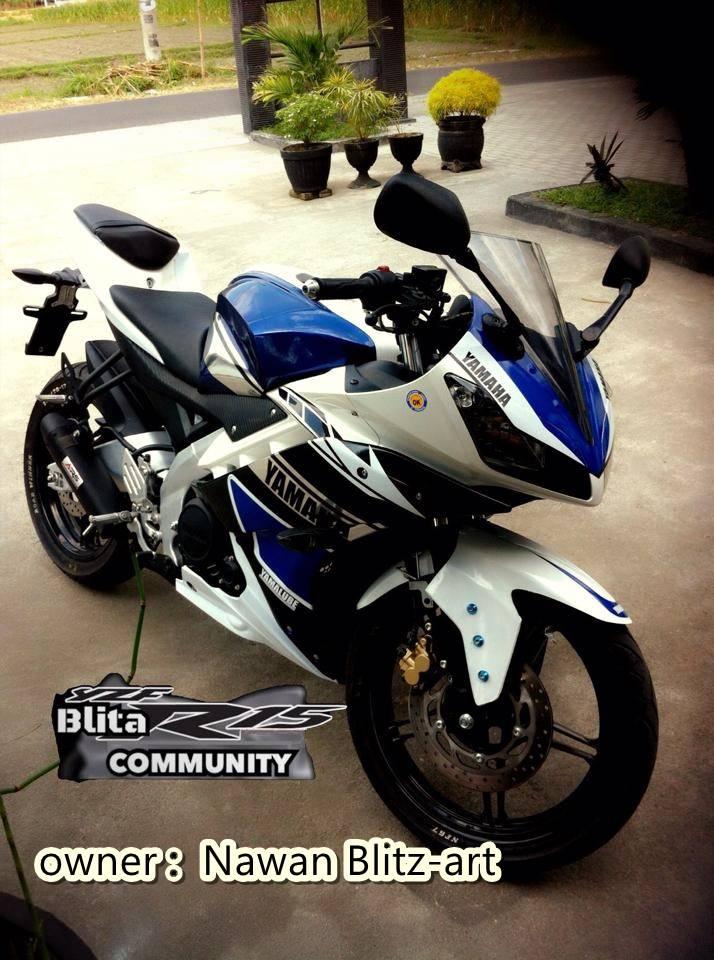 Yamaha R15 ala R25 dari Blitar 3
