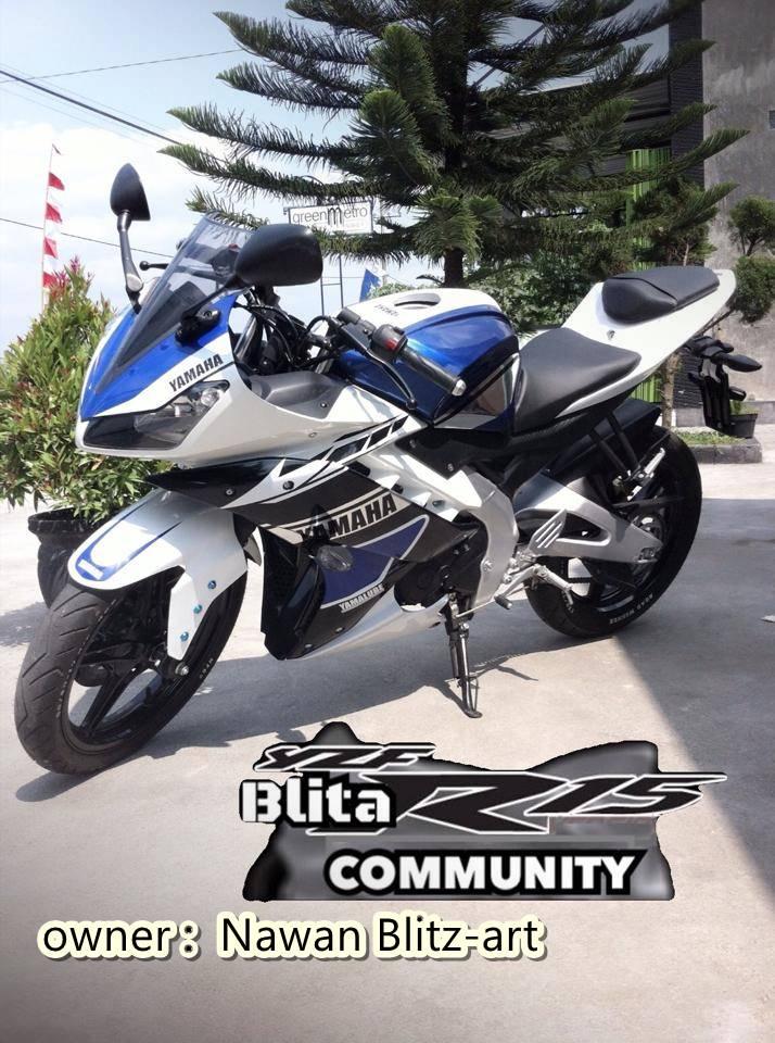 Yamaha R15 ala R25 dari Blitar