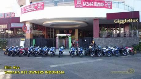Yamaha R25 Owner Indonesia bandung pertamax7.com 0