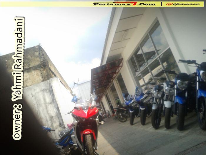 Yamaha R25 pertama Di Kalimantan Selatan 0