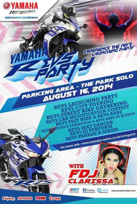 Yamaha Revs Party Kota Surakarta