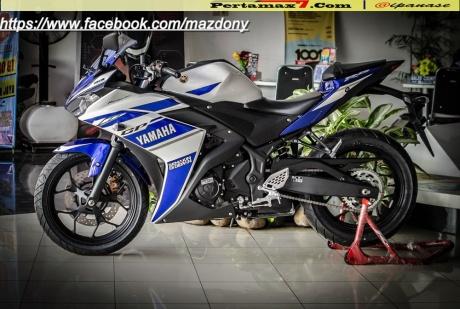 Yamaha YZF-R25 Blue pertamax7.com Indonesia 2