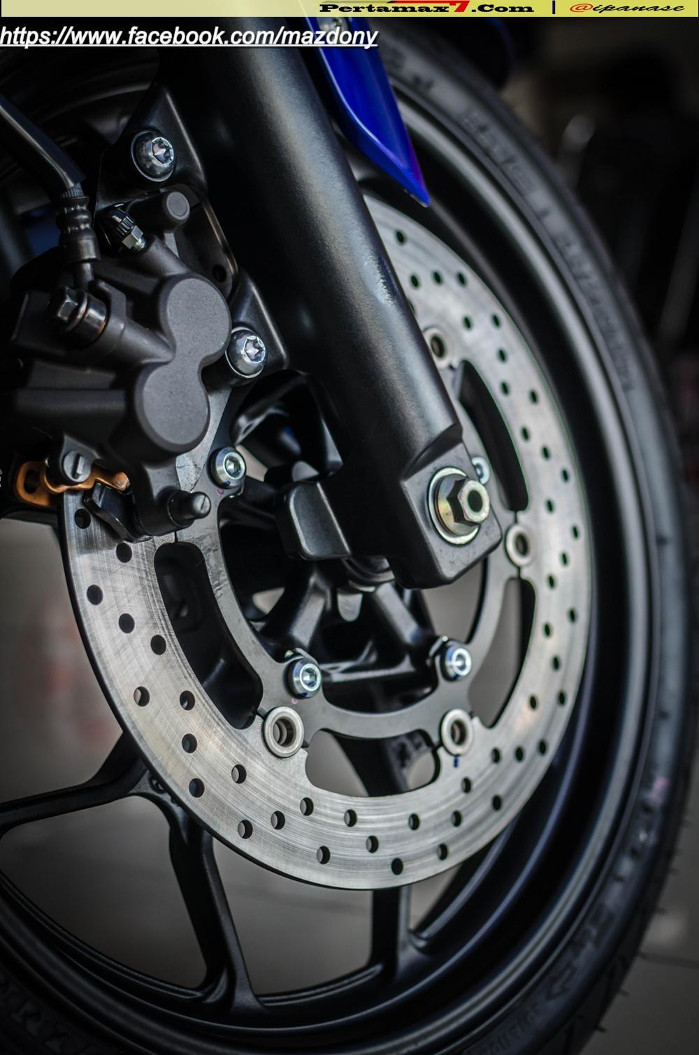 Yamaha YZF-R25 Blue pertamax7.com Indonesia 25