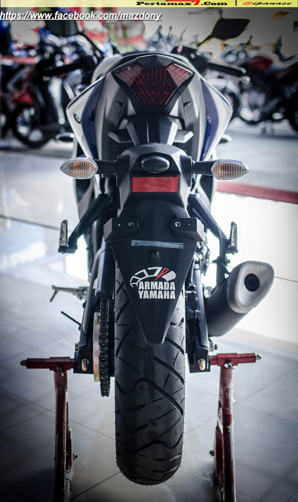 Yamaha YZF-R25 Blue pertamax7.com Indonesia 44