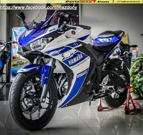 Yamaha YZF-R25 Blue pertamax7.com Indonesia 46