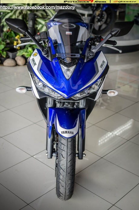 Yamaha YZF-R25 Blue pertamax7.com Indonesia 47