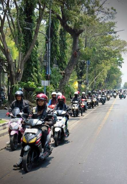 900 Bikers Honda Vario Ramaikan Solo dengan Kampanye Safety Riding 0