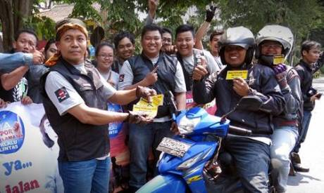 900 Bikers Honda Vario Ramaikan Solo dengan Kampanye Safety Riding 2