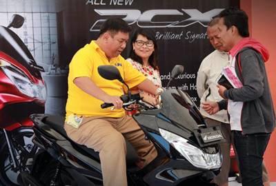 AHM Akhiri Penantian Pecinta Honda PCX LED 2015 0