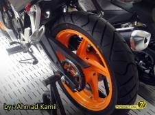 All New Honda CBR150R 2014 ready stock Sumbar pertamax7.com 0