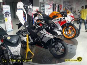 All New Honda CBR150R 2014 ready stock Sumbar pertamax7.com 4