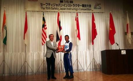 Instruktur Honda Indonesia Juarai Kompetisi Safety Riding Internasional 1