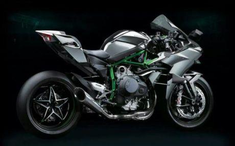 Kawasaki Ninja H2R Supercharged 300 HP 2015 1