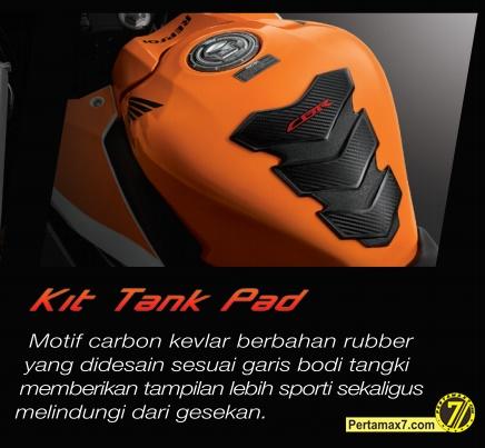 kit tank pad honda CBR150R indonesia