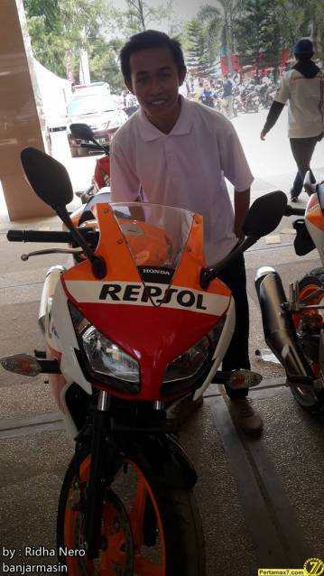 Launching Honda All New CBR150R Lokal di Banjarmasin 2
