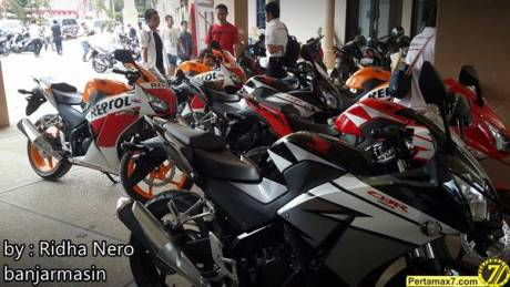Launching Honda All New CBR150R Lokal di Banjarmasin 3