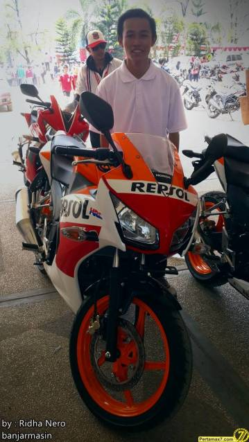 Launching Honda All New CBR150R Lokal di Banjarmasin 5