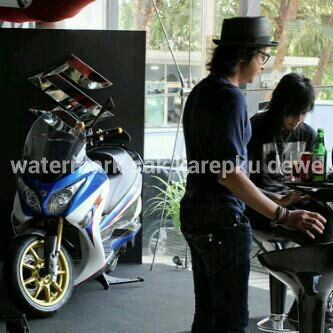 Launching Suzuki Burgman 200 di Indoensia 1