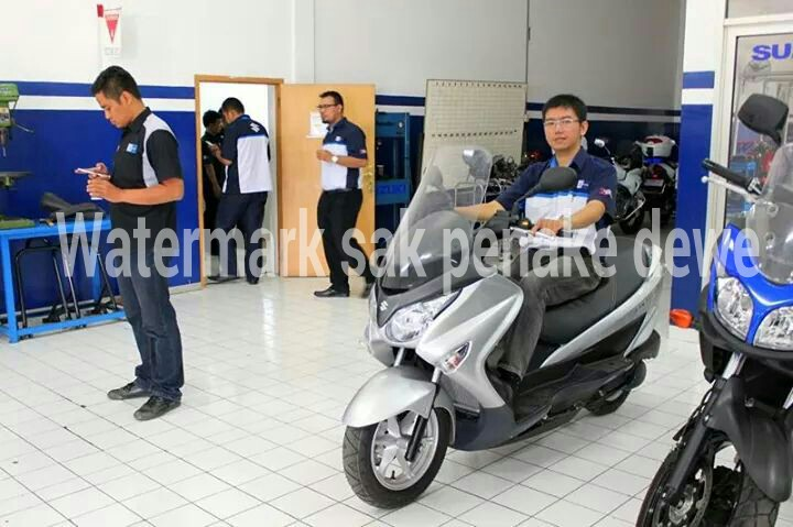 Launching Suzuki Burgman 200 di Indoensia 2