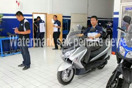 Launching Suzuki Burgman 200 di Indoensia 2