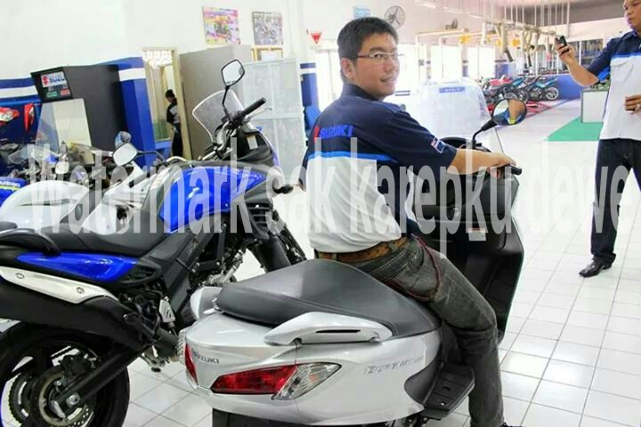 Launching Suzuki Burgman 200 di Indoensia 3