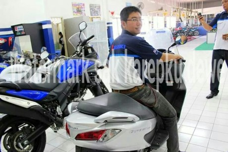 Launching Suzuki Burgman 200 di Indoensia 3
