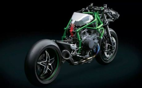 leaked kawasaki ninja H2 race version 1