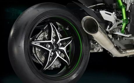 leaked kawasaki ninja H2 race version mono arm