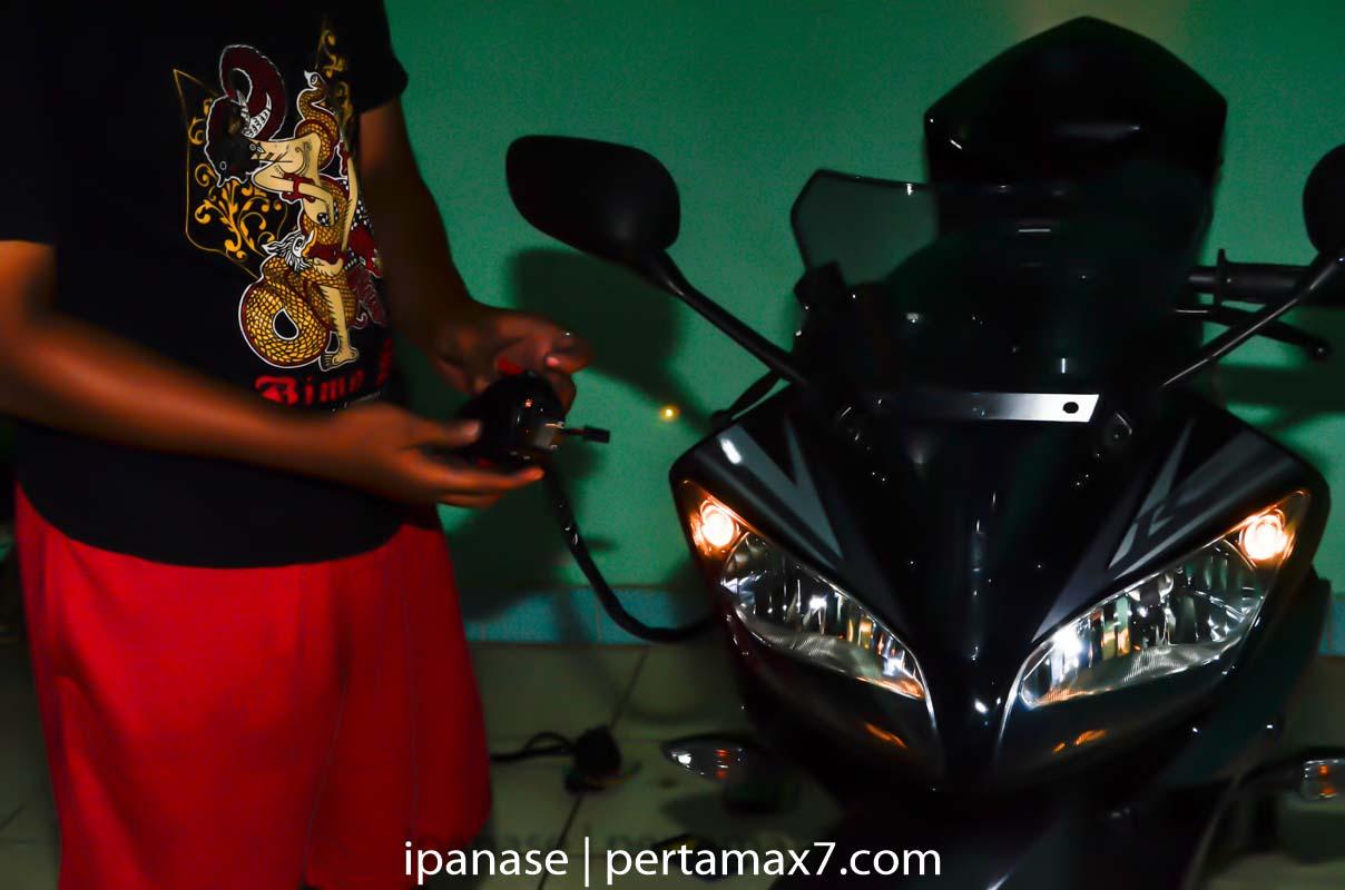 mematikan AHO Yamaha R15 dengan saklar Old Vixion 29