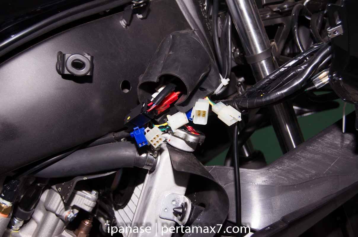 mematikan AHO Yamaha R15 dengan saklar Old Vixion 3
