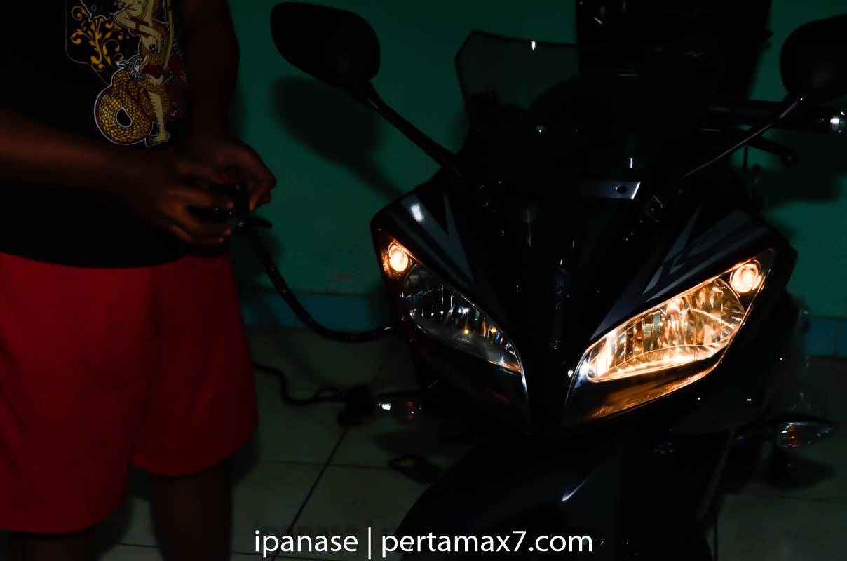 mematikan AHO Yamaha R15 dengan saklar Old Vixion 30