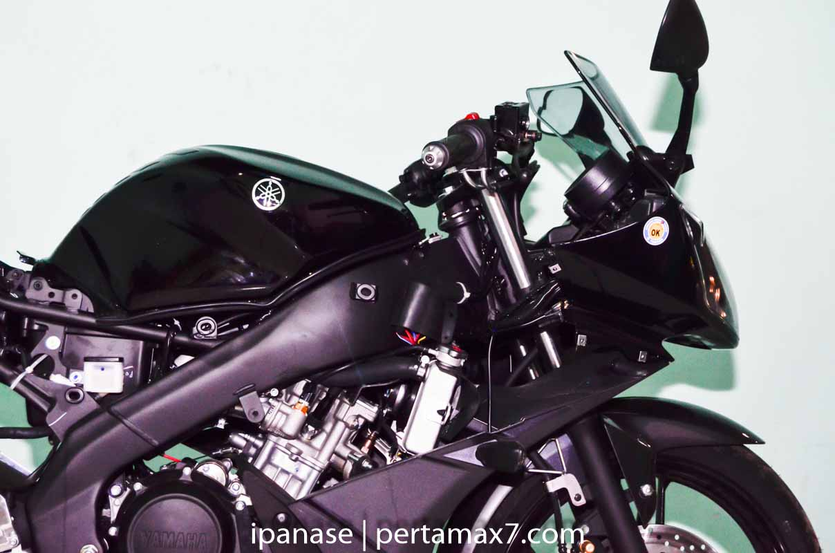 mematikan AHO Yamaha R15 dengan saklar Old Vixion 6