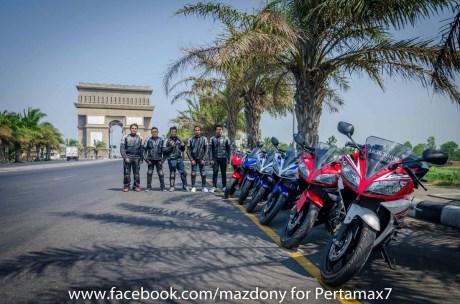 Mini Touring Yamaha R Series Owner Club Tulungagung Ke Simpang Lima Gumul Kediri 1