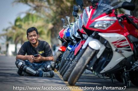 Mini Touring Yamaha R Series Owner Club Tulungagung Ke Simpang Lima Gumul Kediri 3