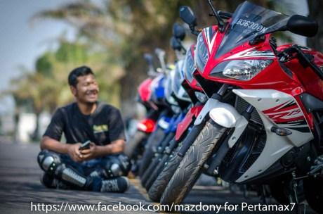 Mini Touring Yamaha R Series Owner Club Tulungagung Ke Simpang Lima Gumul Kediri 4