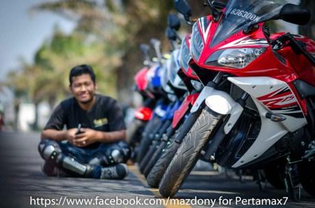 Mini Touring Yamaha R Series Owner Club Tulungagung Ke Simpang Lima Gumul Kediri 5