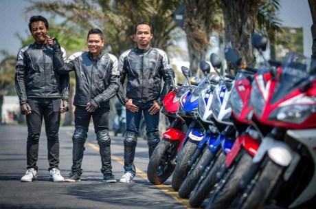 Mini Touring Yamaha R Series Owner Club Tulungagung Ke Simpang Lima Gumul Kediri 7